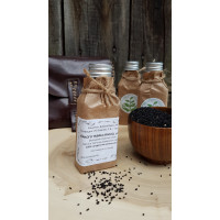 Масло черного тмина, сыродавленное, деревянный пресс