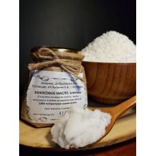 Масло кокосовое из мякоти кокоса, сыродавленное, деревянный пресс
