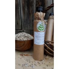 Масло подсолнечное из очищенного ядра, сыродавленное, деревянный пресс