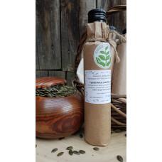 Масло тыквенное, сыродавленное, деревянный пресс