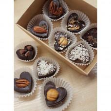 Натуральные шоколадные конфеты ассорти (70% какао)