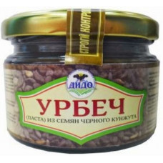 Урбеч из коричневого кунжута (250 гр)